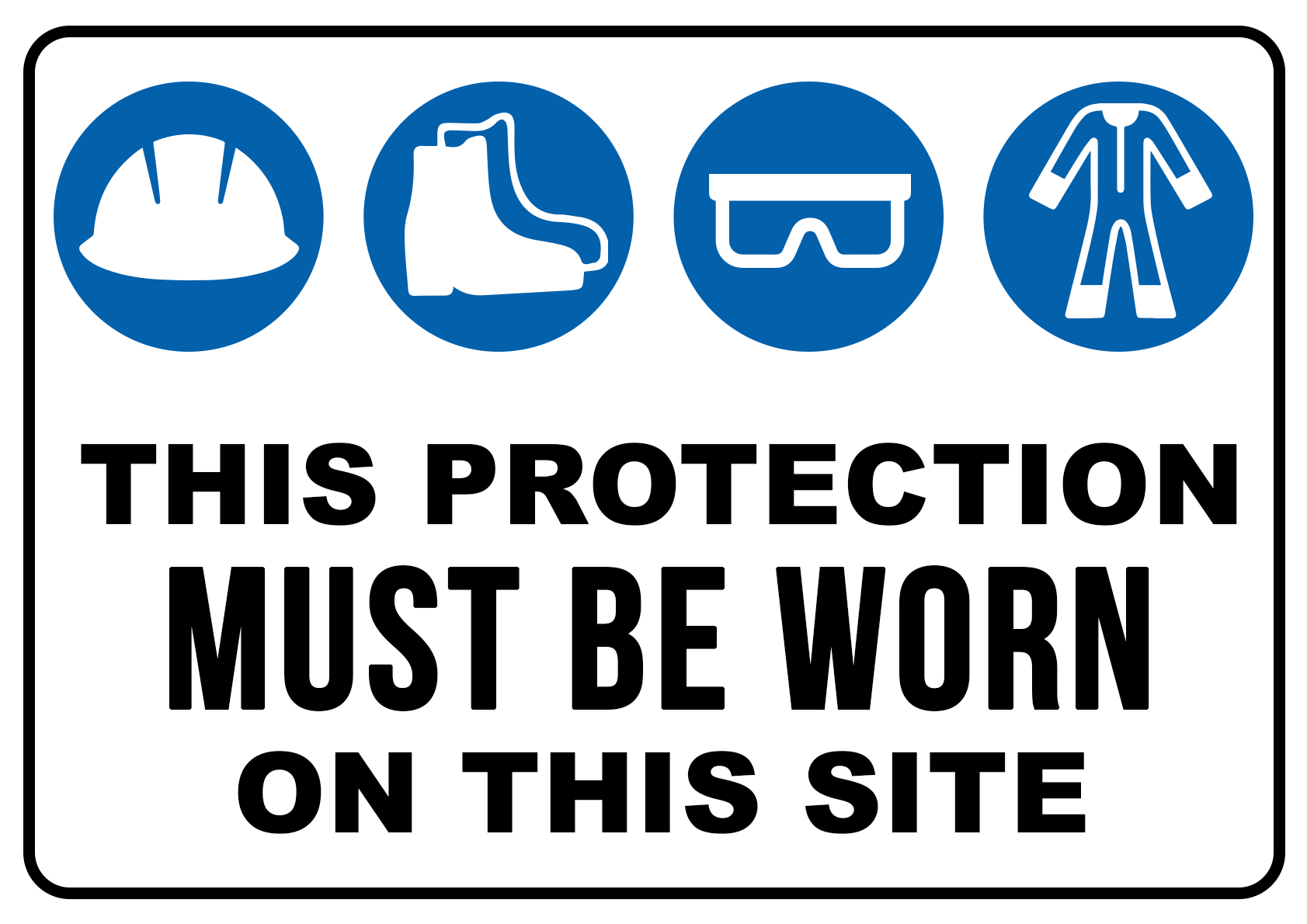 Protection Must be Worn