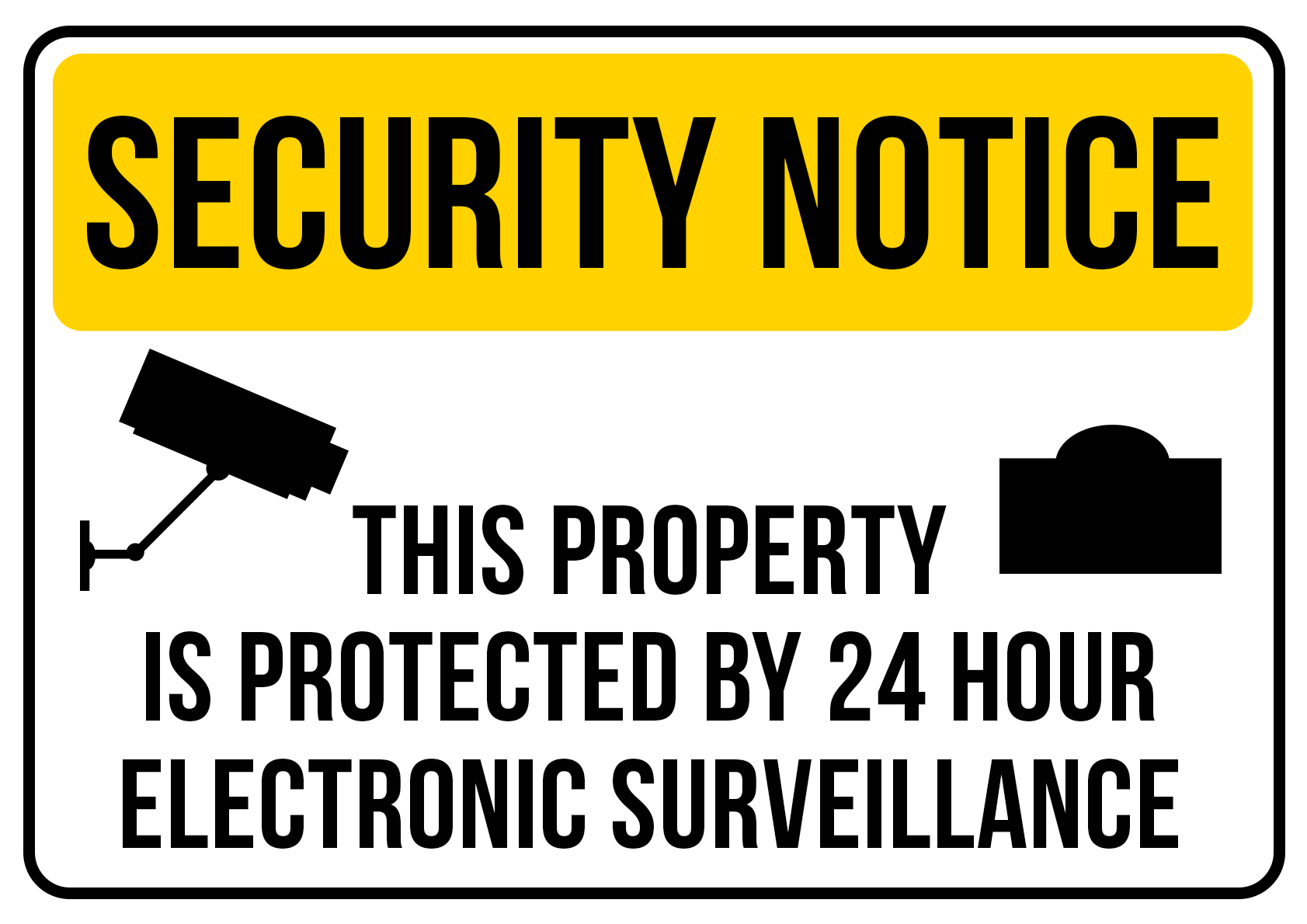 Security Protected by Electronic Surveillance