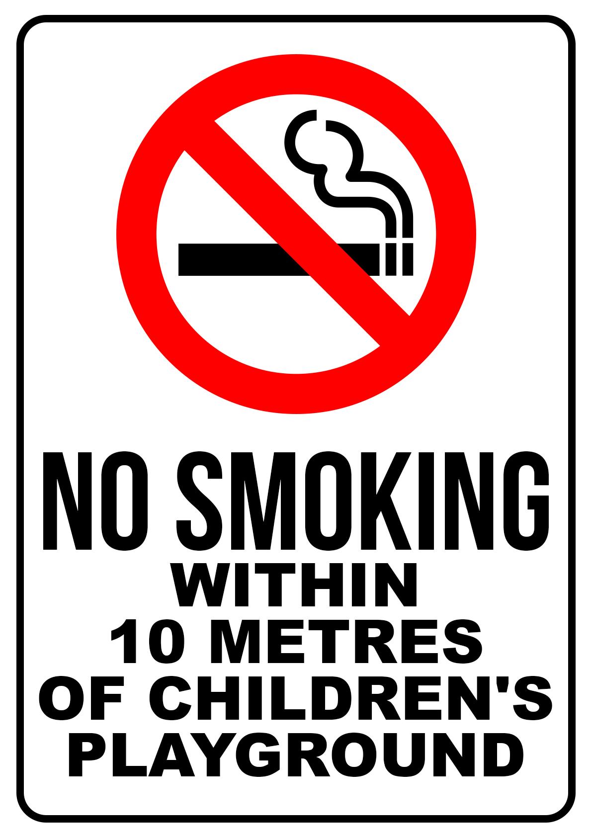 No Smoking Playground