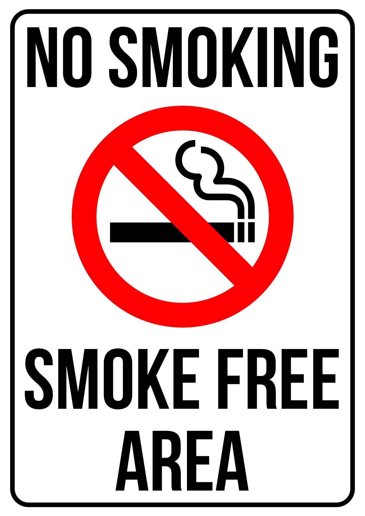 Smoke Free Area