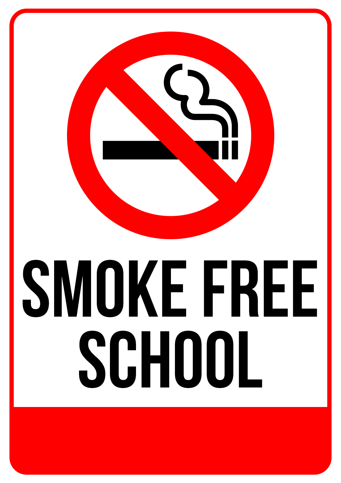 Smoke Free School