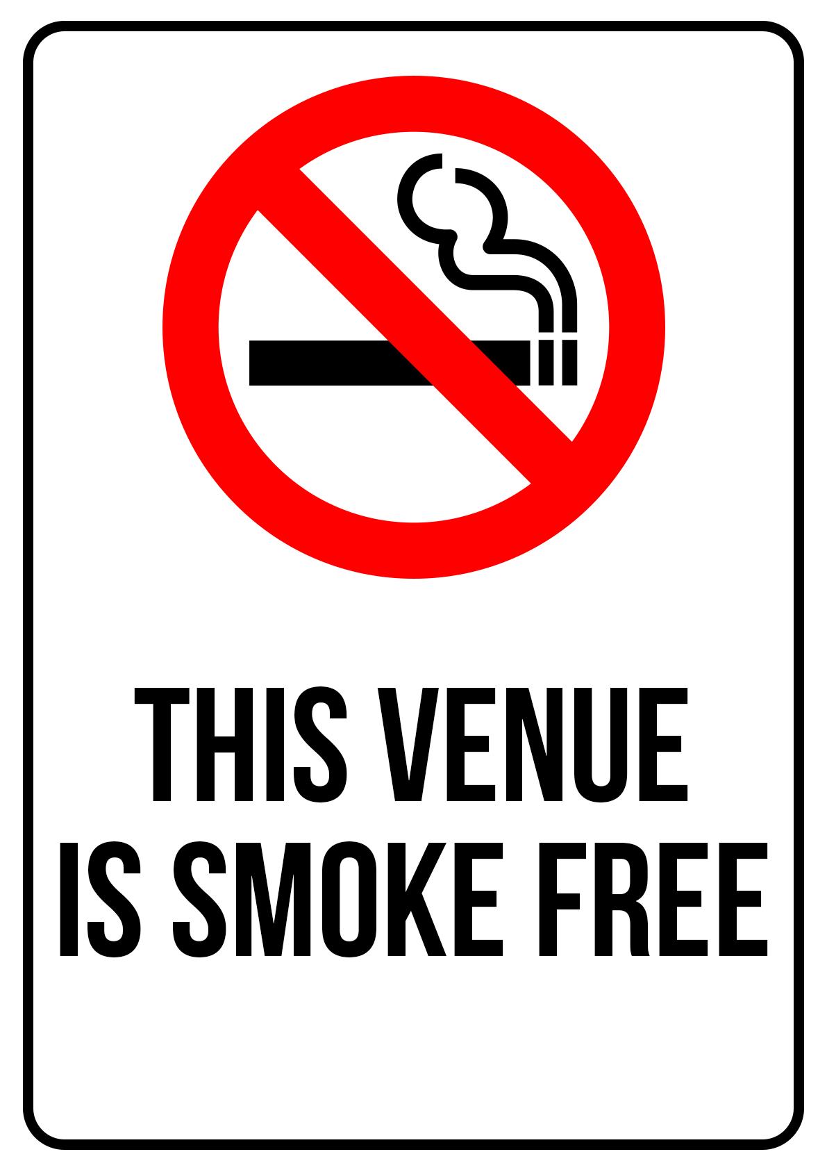 Smoke Free Venue