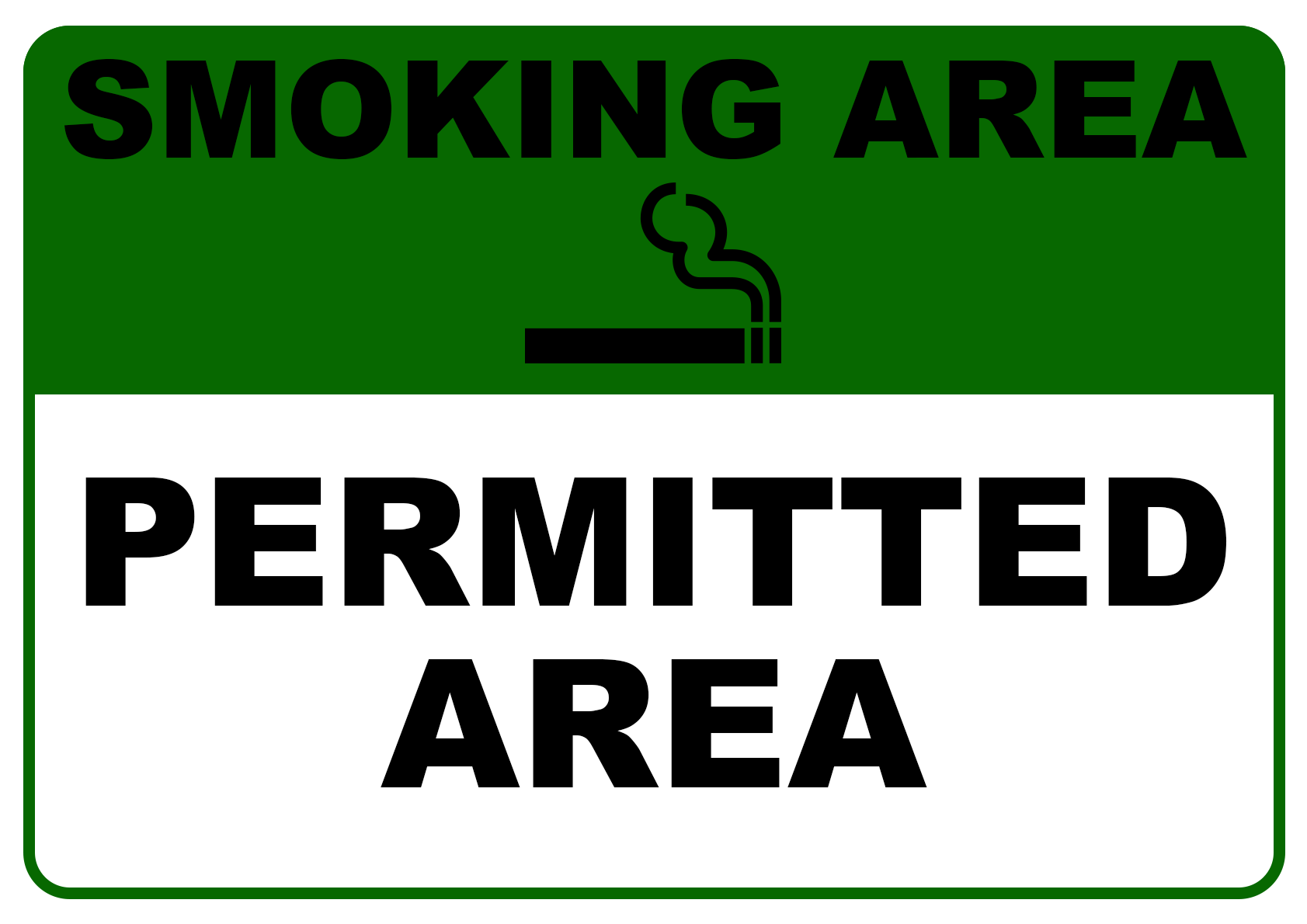 Smoking Permitted Area