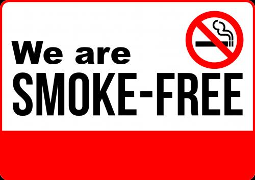 Smoke Free Sign