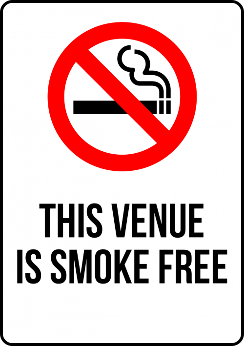 SMOKING SMOKE FREE VENUE