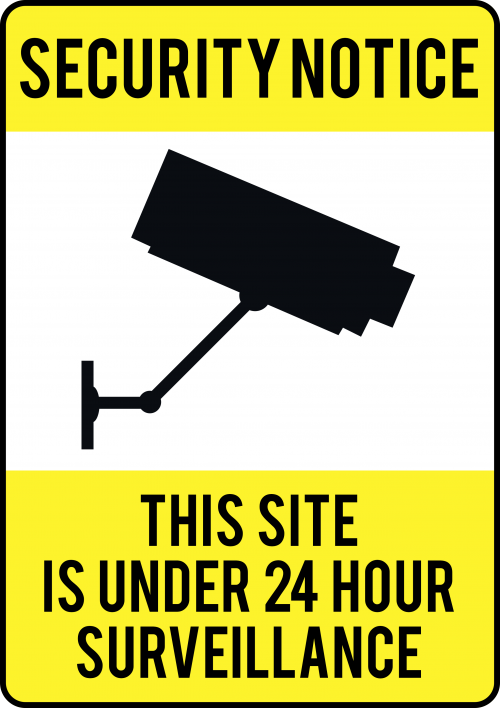 Site is Under 24-Hour Survellance Sign - Safety Sign Australia