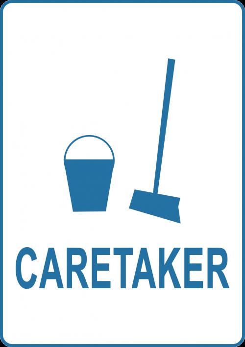 Caretaker-Sign
