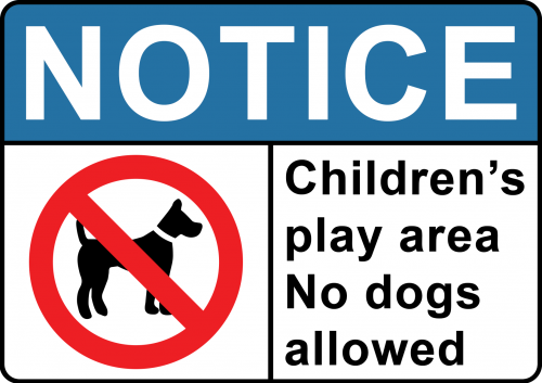 Area-no-dogs-allowed-sign