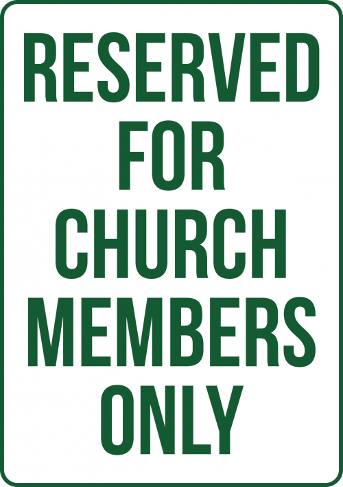 Church Members Only