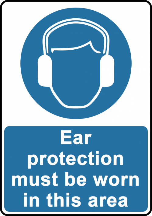 Ear Protection Sign - Safety Sign Australia