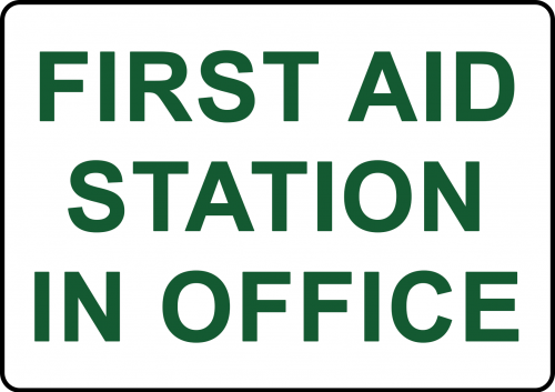 First Aid Station Sign - Safety Sign Australia