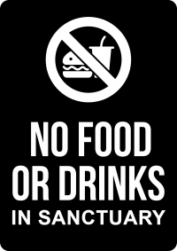 No Drinks In Sanctuary CHU006