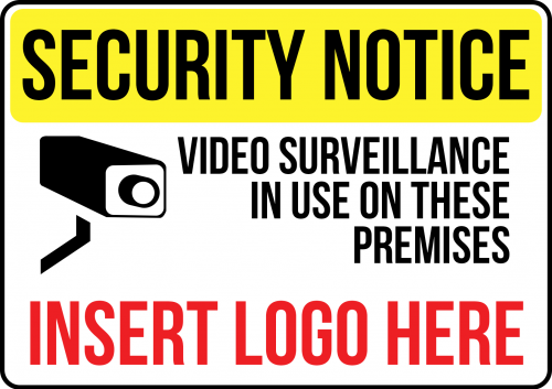 Video-Surveillance-Is Used On This Premises Sign
