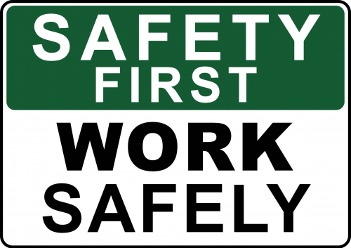 Work Safely Sign - Safety Sign Australia