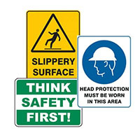 SAFETY SIGNS IDEAS