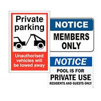 Venue Signs